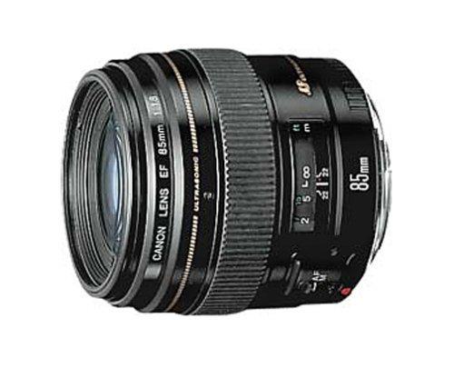 Canon EF 85mm f/1.8 USM Medium Telephoto Lens for Canon SLR Cameras