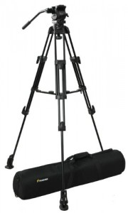 Fancierstudio Professional Video Camera Tripod FC-270 Pro Video Camera Tripod with Fluid Head By Fancierstudio FC-270
