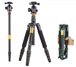 AFAITH® Professional SLR Camera Tripod Monopod & Ball Head Portable Compact Travel up to 35lbs