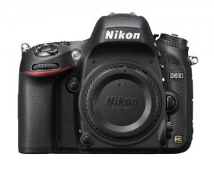 Nikon D610 24.3 MP CMOS FX-Format Digital SLR Camera (Body Only)
