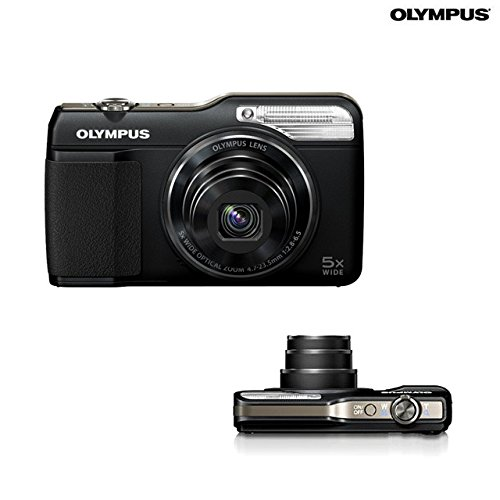 Olympus Stylus VG-190 Digital Camera - 5x Optical Zoom - 16mp - 720p HD Video - Black