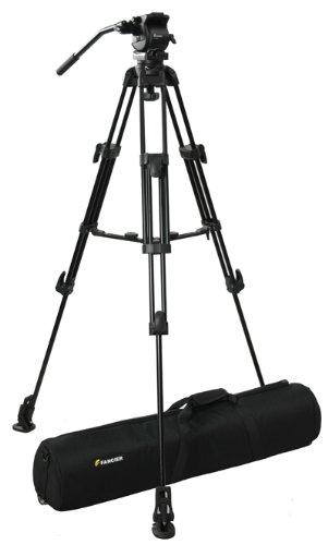 Fancierstudio Professional Video Camera Tripod FC-270 Pro Video Camera Tripod with Fluid Head By Fancierstudio FC-270